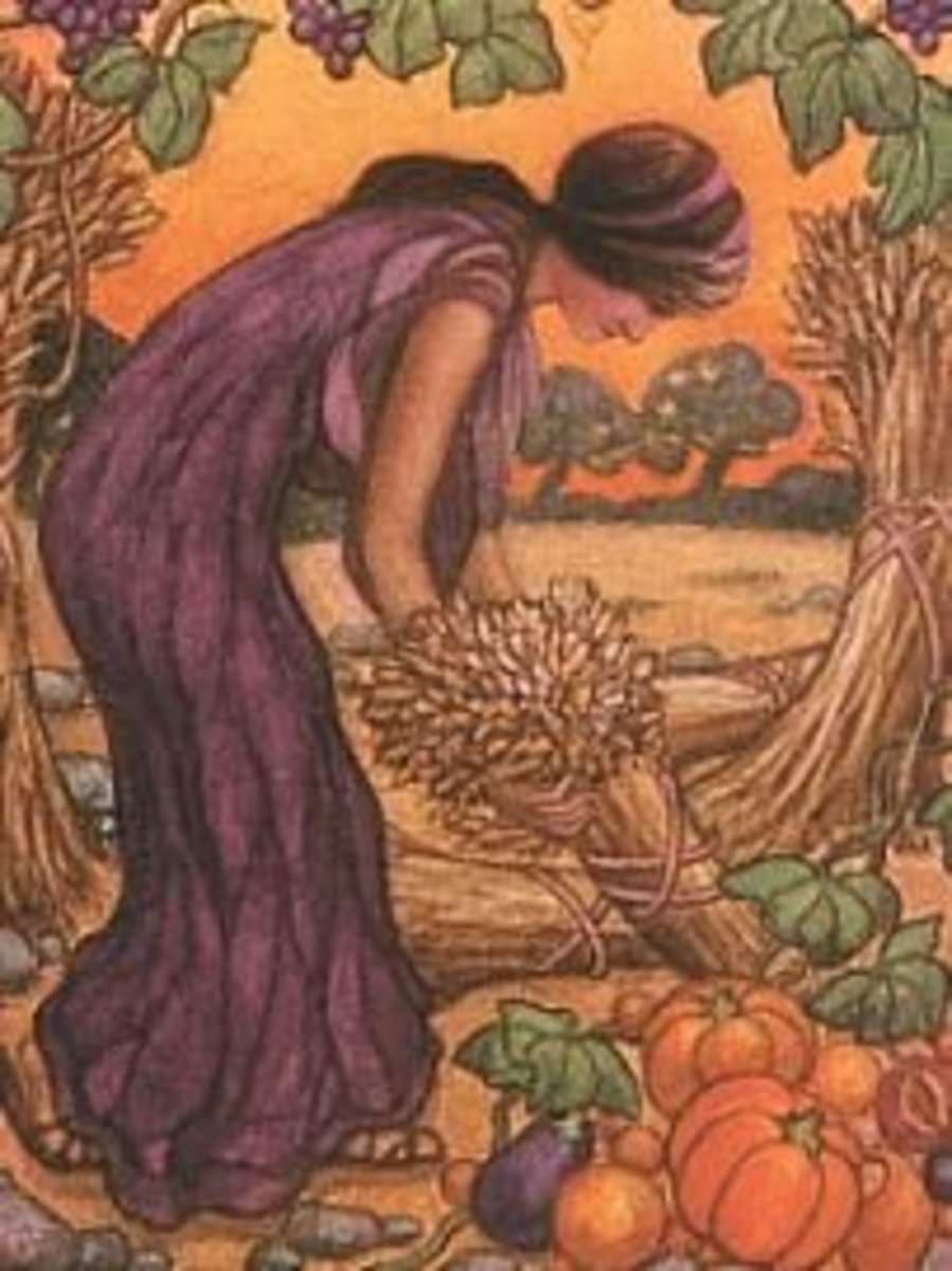 Greek Goddesses - Demeter - A Thanksgiving Story