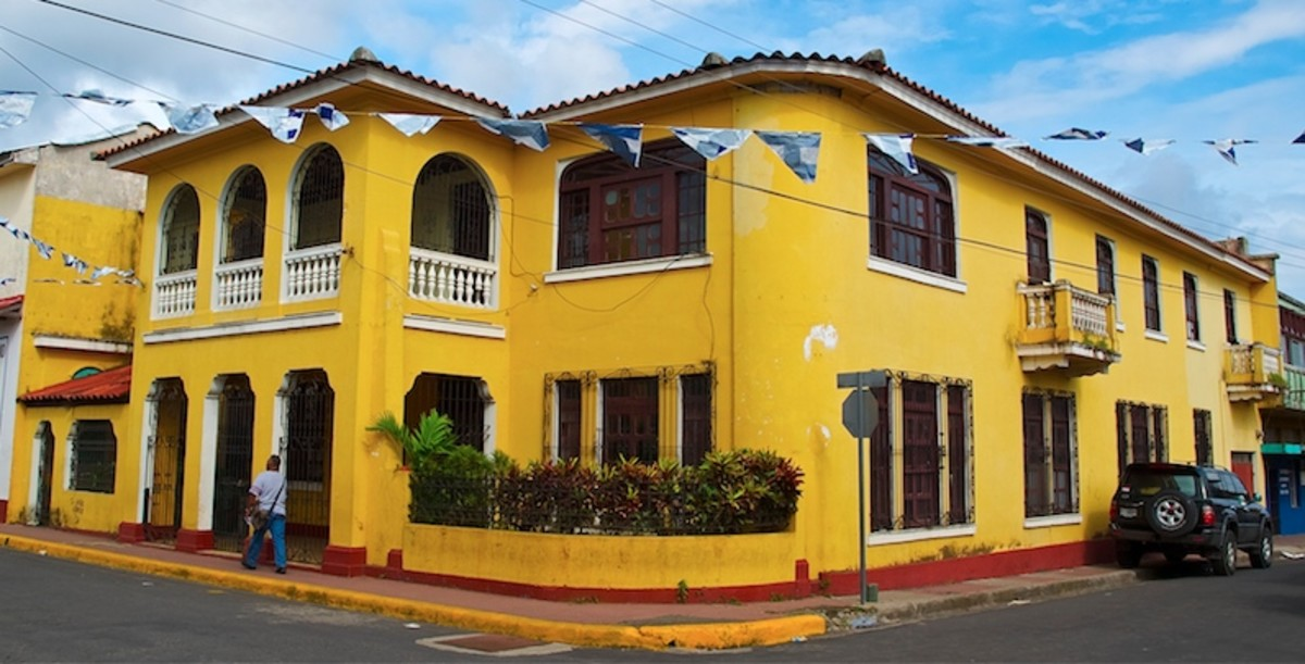 Home in Diriamba, Nicaragua
