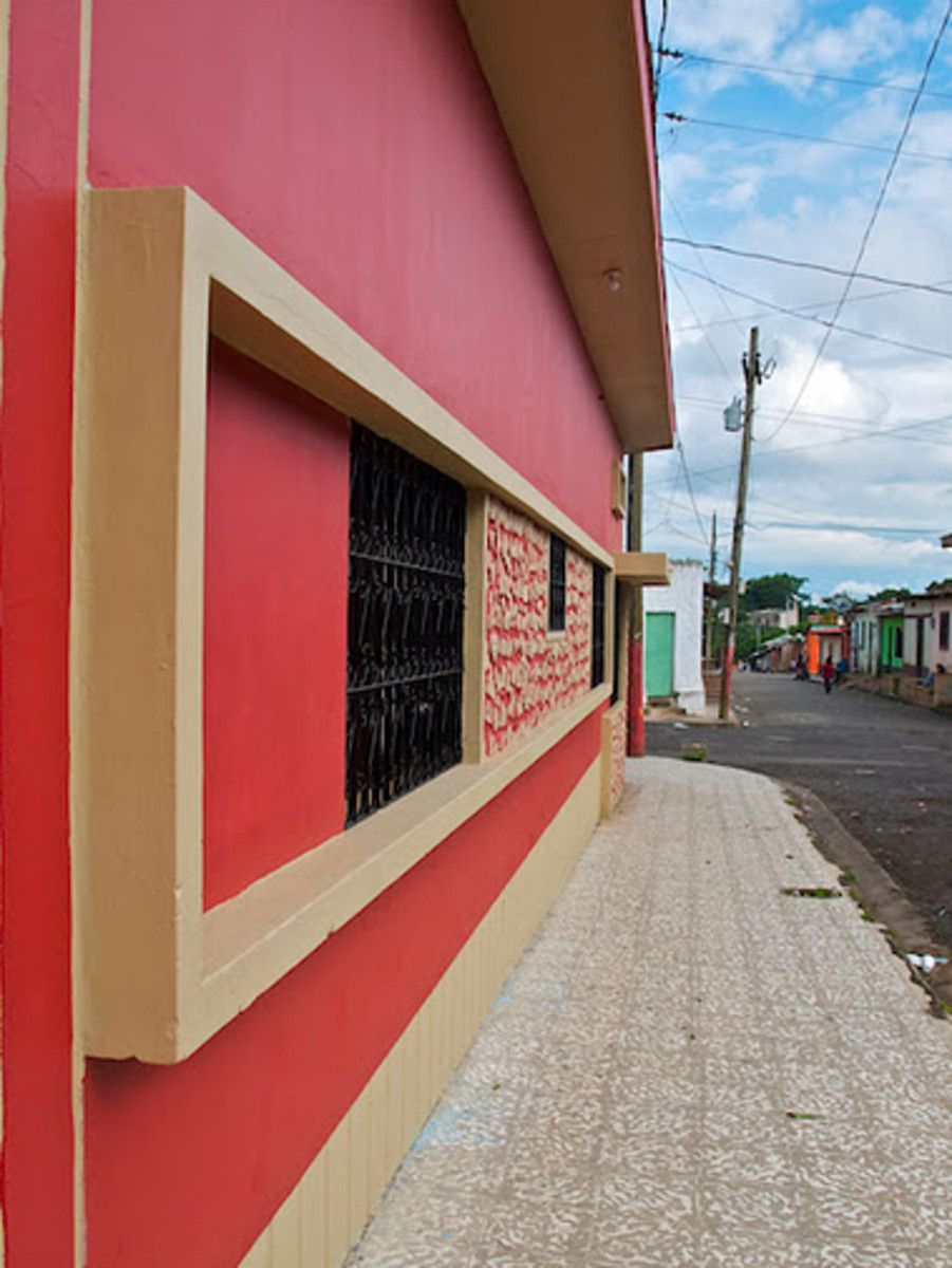 A different design for windows and bars in Diriamba, Nicaragua