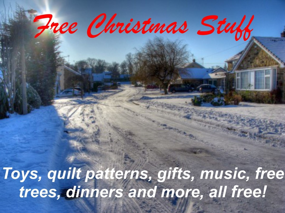Free Stuff For Christmas | Decorations, Patterns, Music, Stocking Stuffer And More