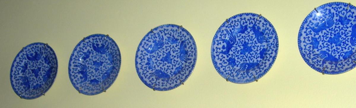 Occupied Japan Plates