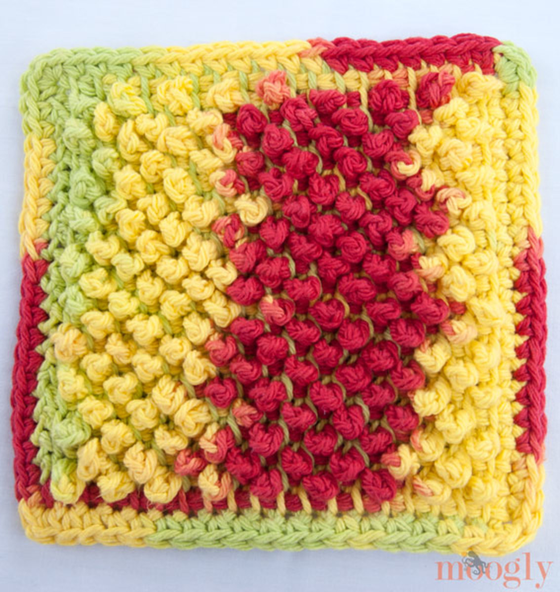 Crochet Tunisian Dishcloth