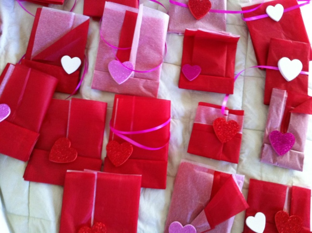 Valentine Treat Packages