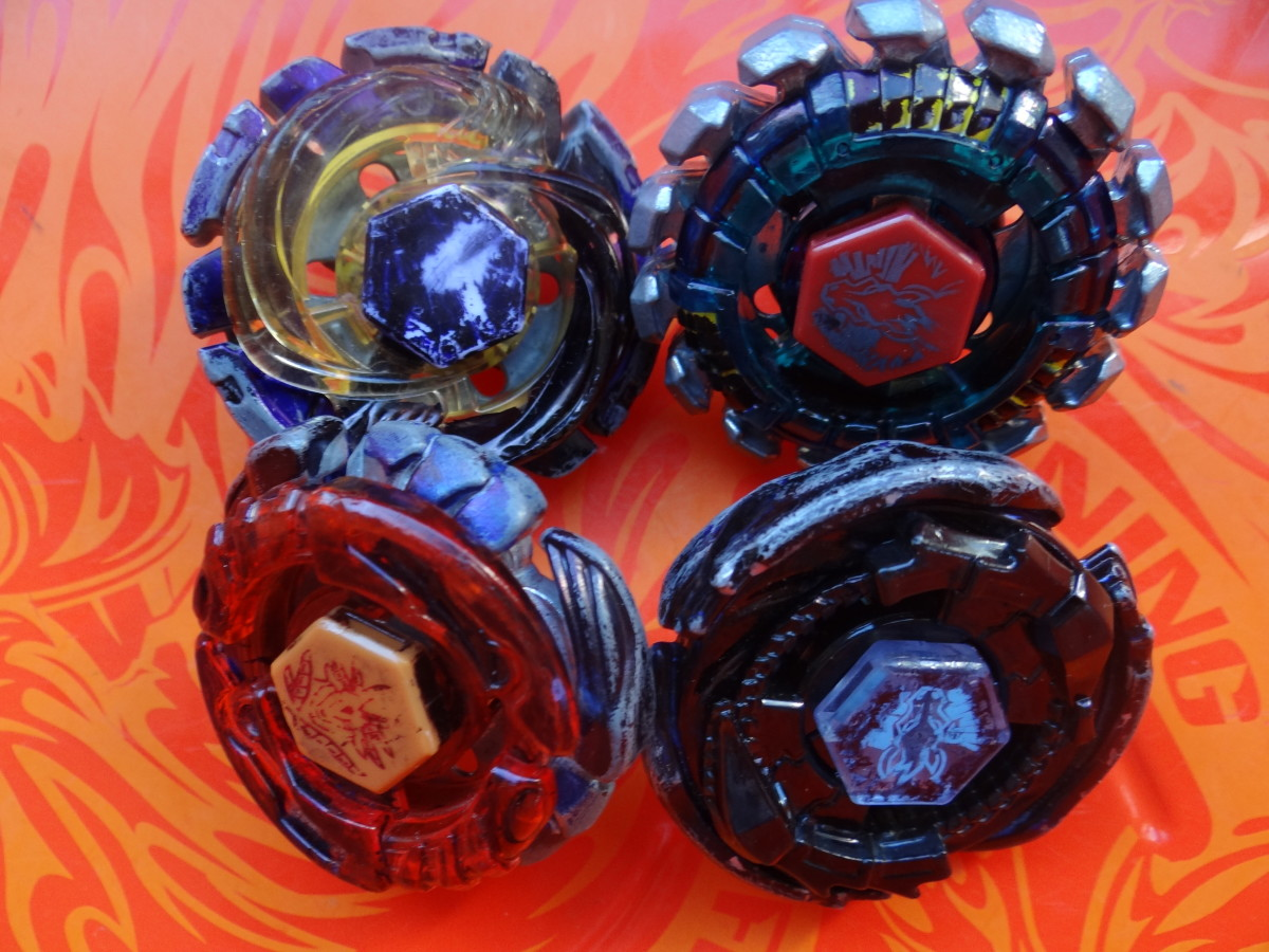 Assorted Beyblades
