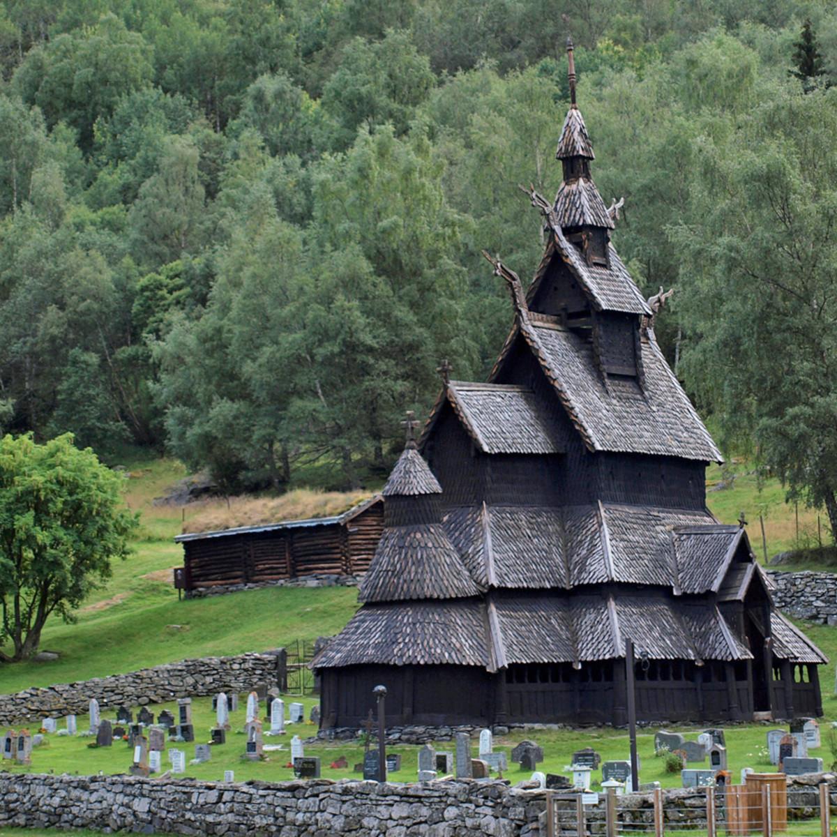 Borgund Stavkirke, Norge