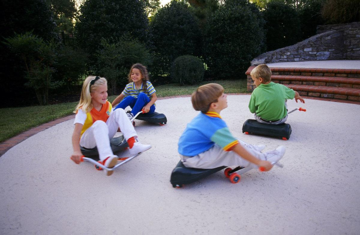 Kids love Flying Turtles