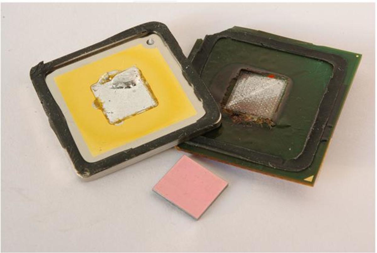 Pentium 4 CPU Obtained under Creative Commons license from http://www.flickr.com/photos/yellowcloud/4524666337/in/photostream/