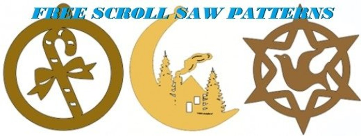 Free Scroll Saw Patterns Christmas Ornaments Hubpages