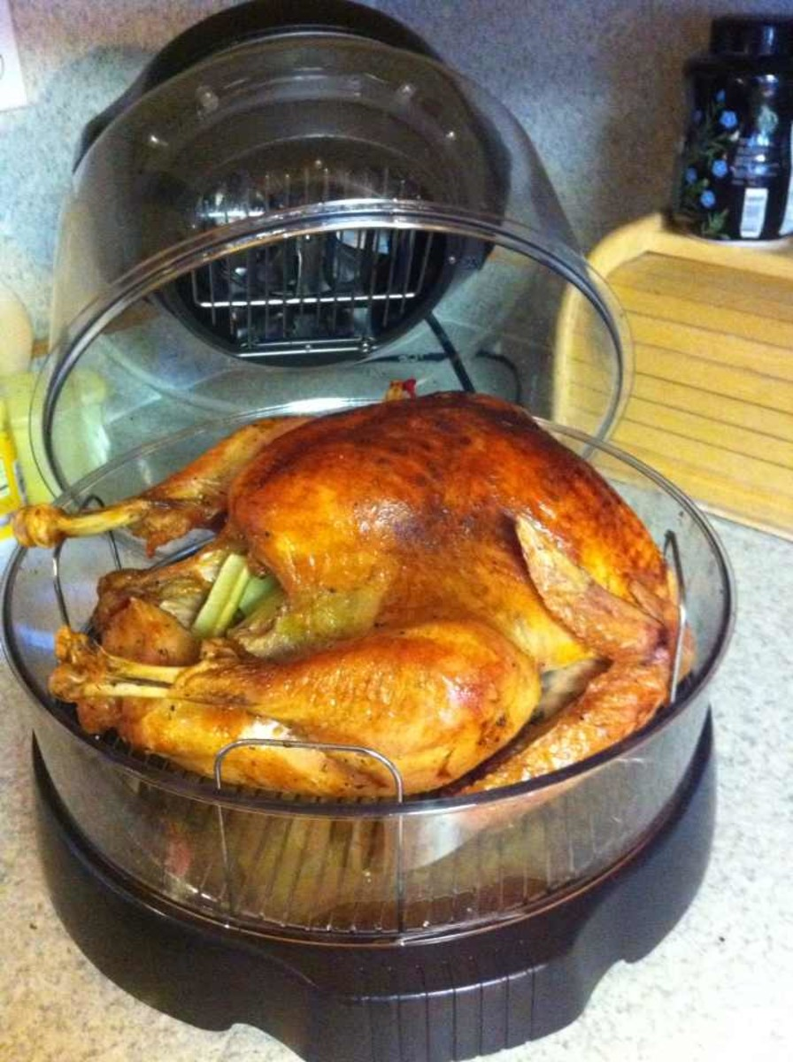 "Best turkey I have ever ""baked,"" and I didn't even have to thaw it thanks to NuWave!"