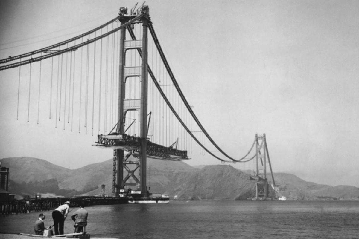 The Golden Gate Bridge - on the Screen