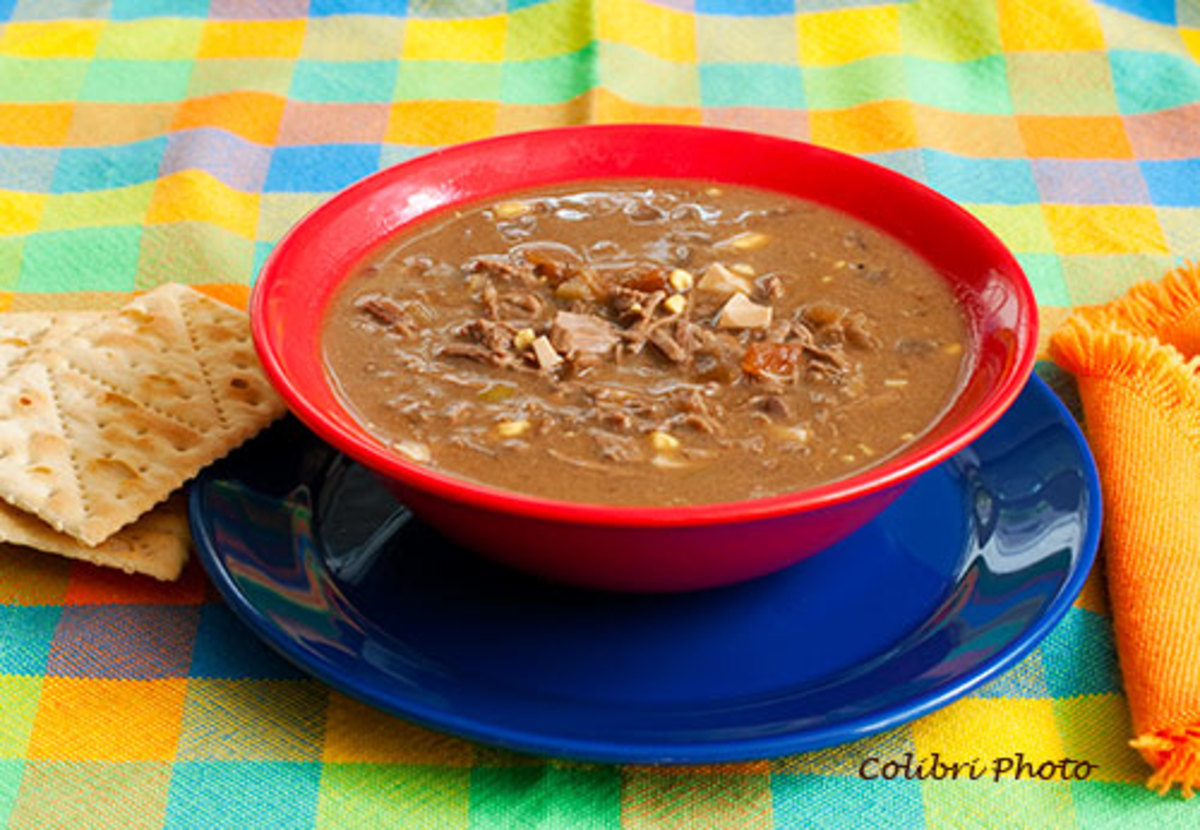 Mock Turtle Soup - A Childhood Favorite