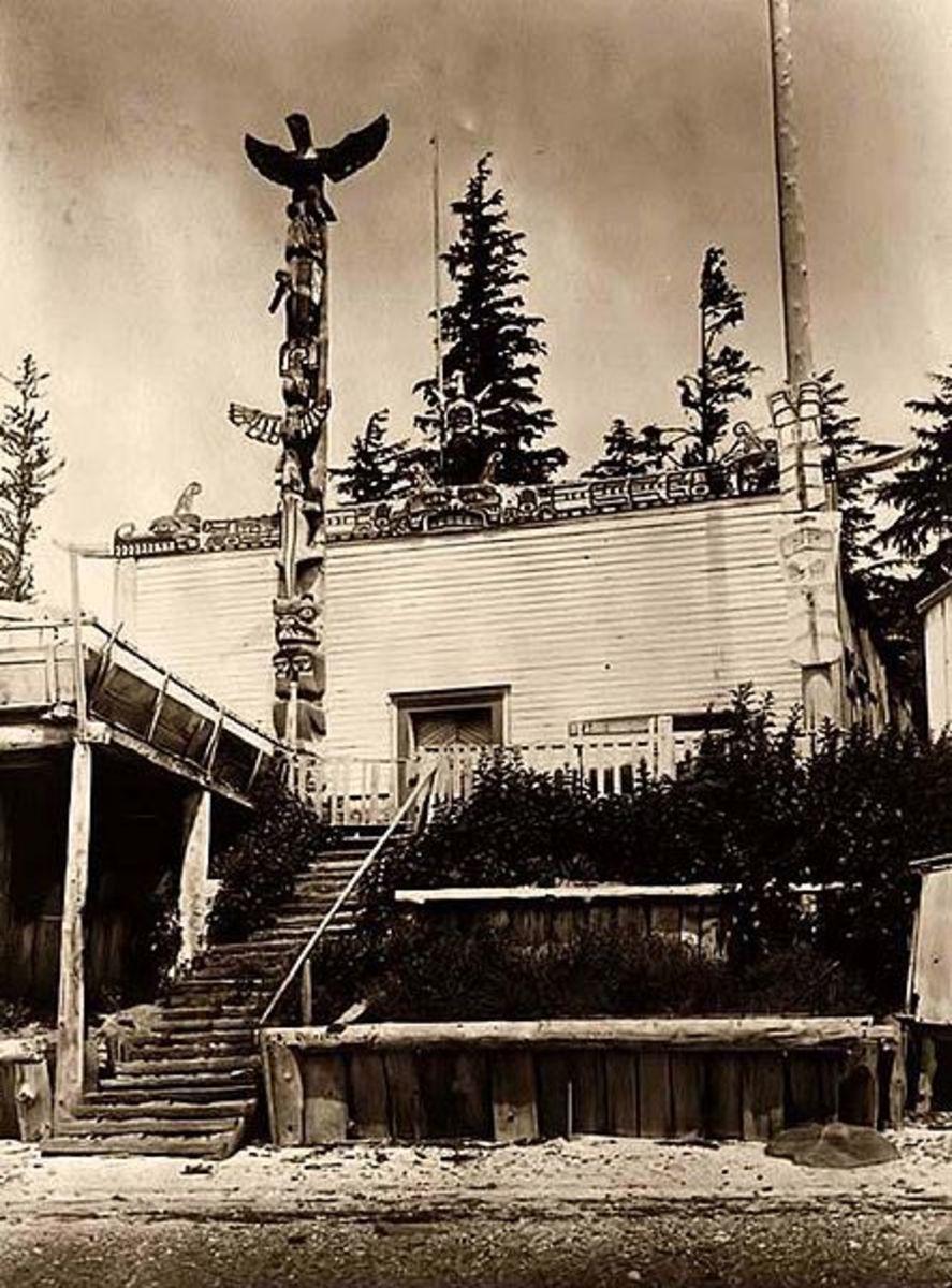 Harbeldown Island is part of Mainland British Columbia.