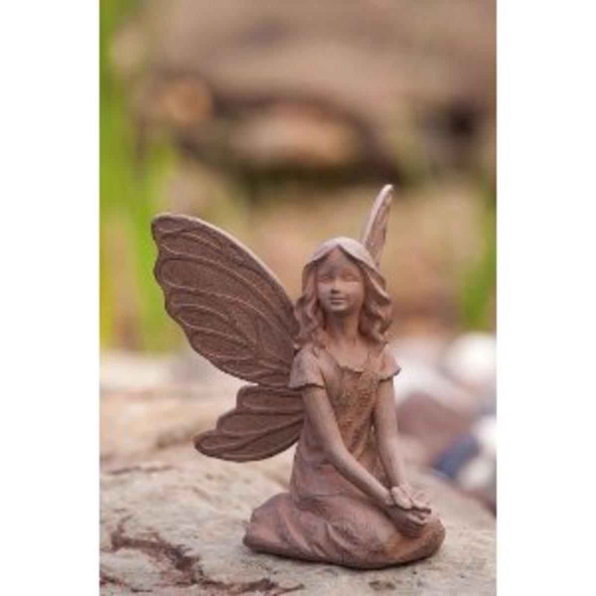 Aria an Earth Fairy Garden Statuary