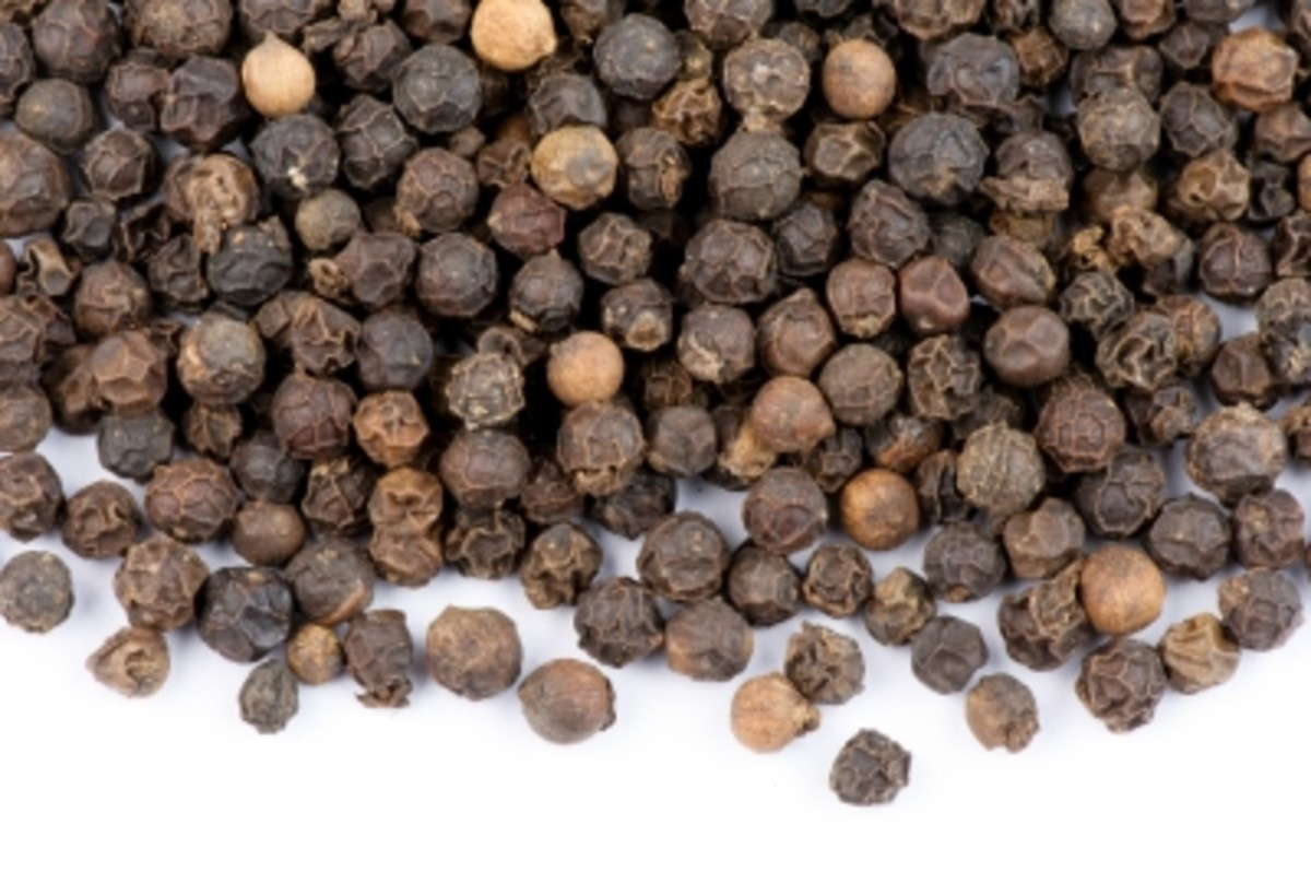 Health Benefits of Black Pepper and Pepper Corns