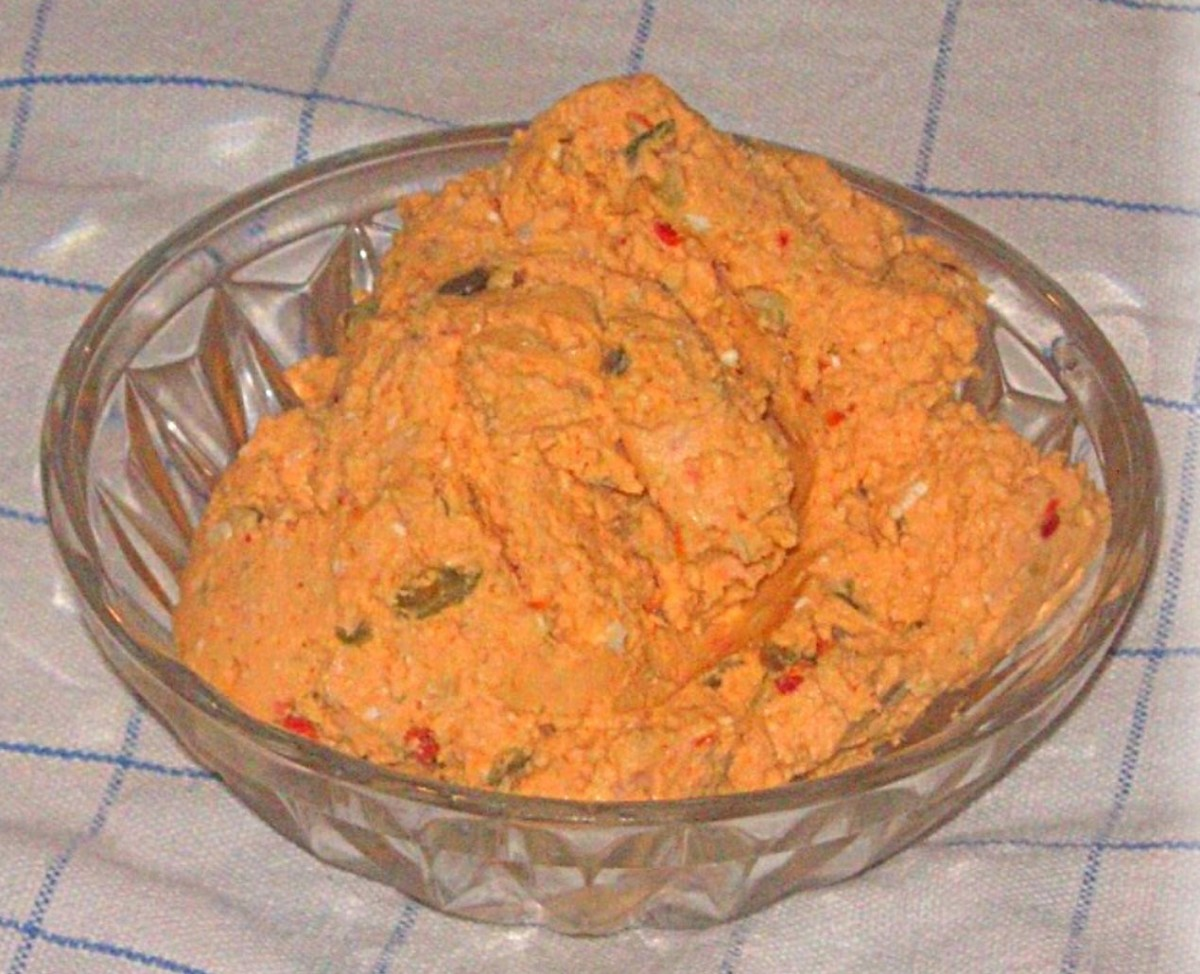Liptauer Cheese Spread