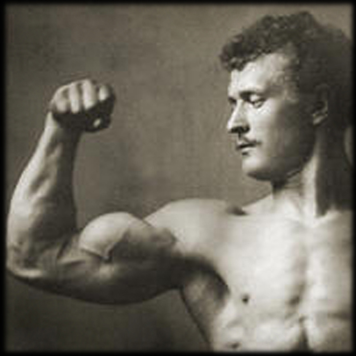 Eugen Sandow, the Father of Modern Bodybuilding who played a role in the shift from function towards pure aesthetics