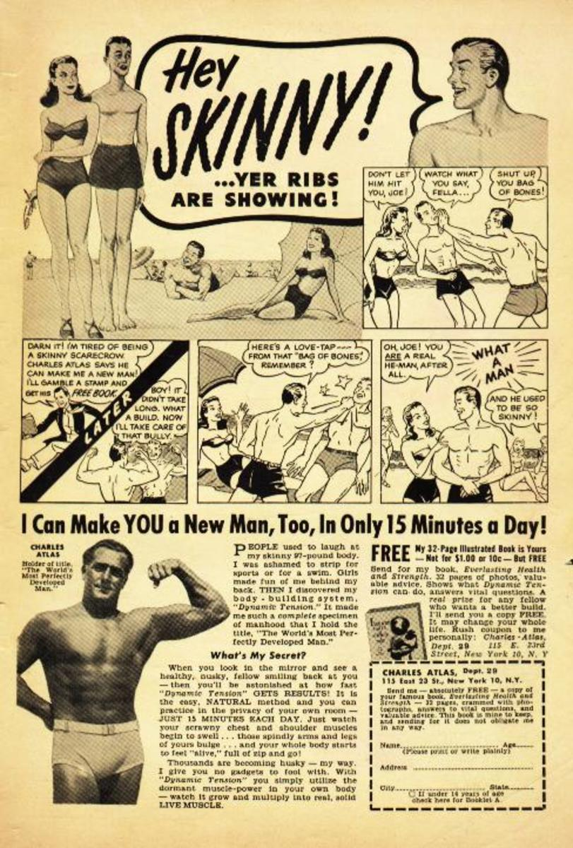 Charles Atlas Ad, c. 1940s