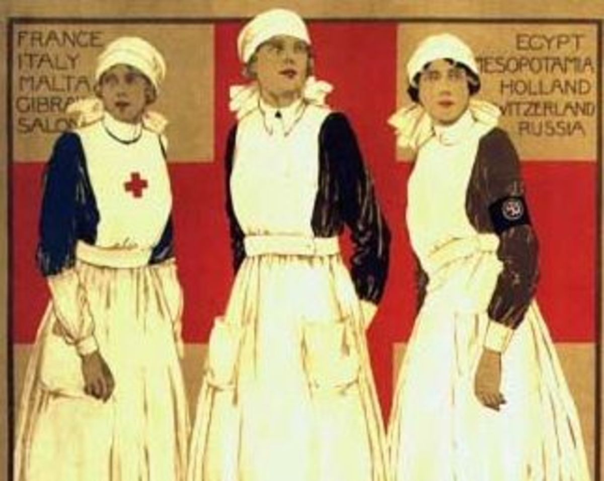 VAD (Voluntary Aid Detachment) recruitment poster