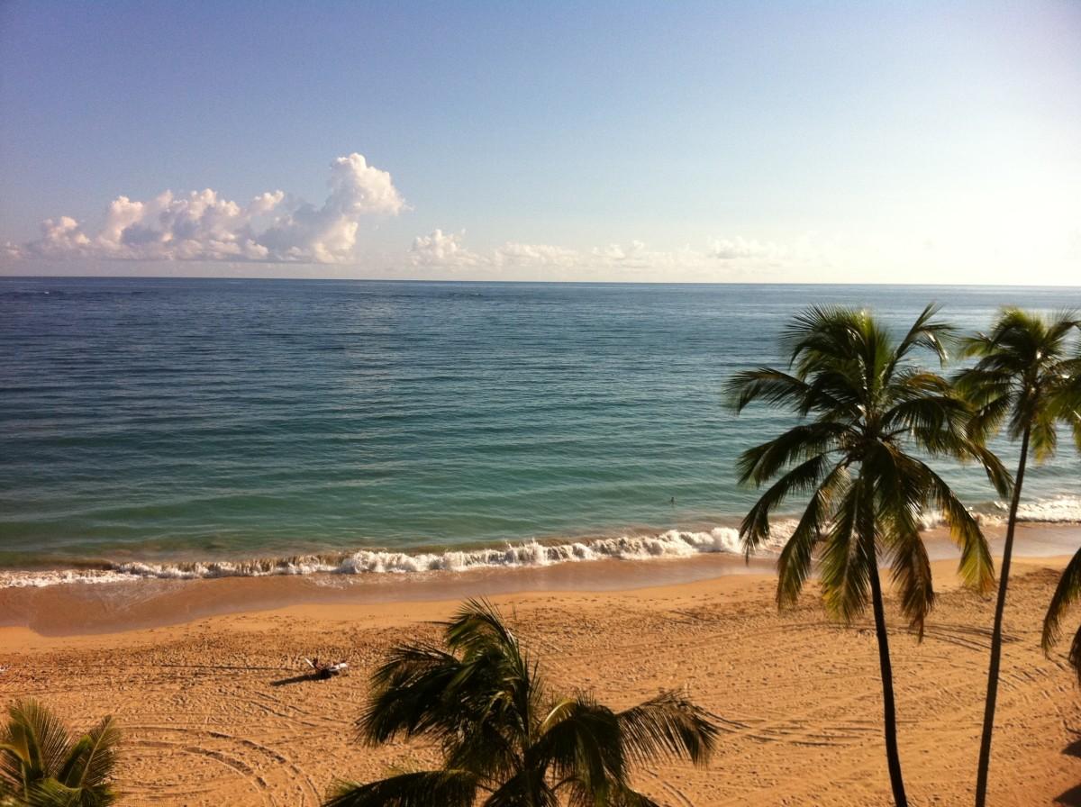 Off the coast of Puerto Rico