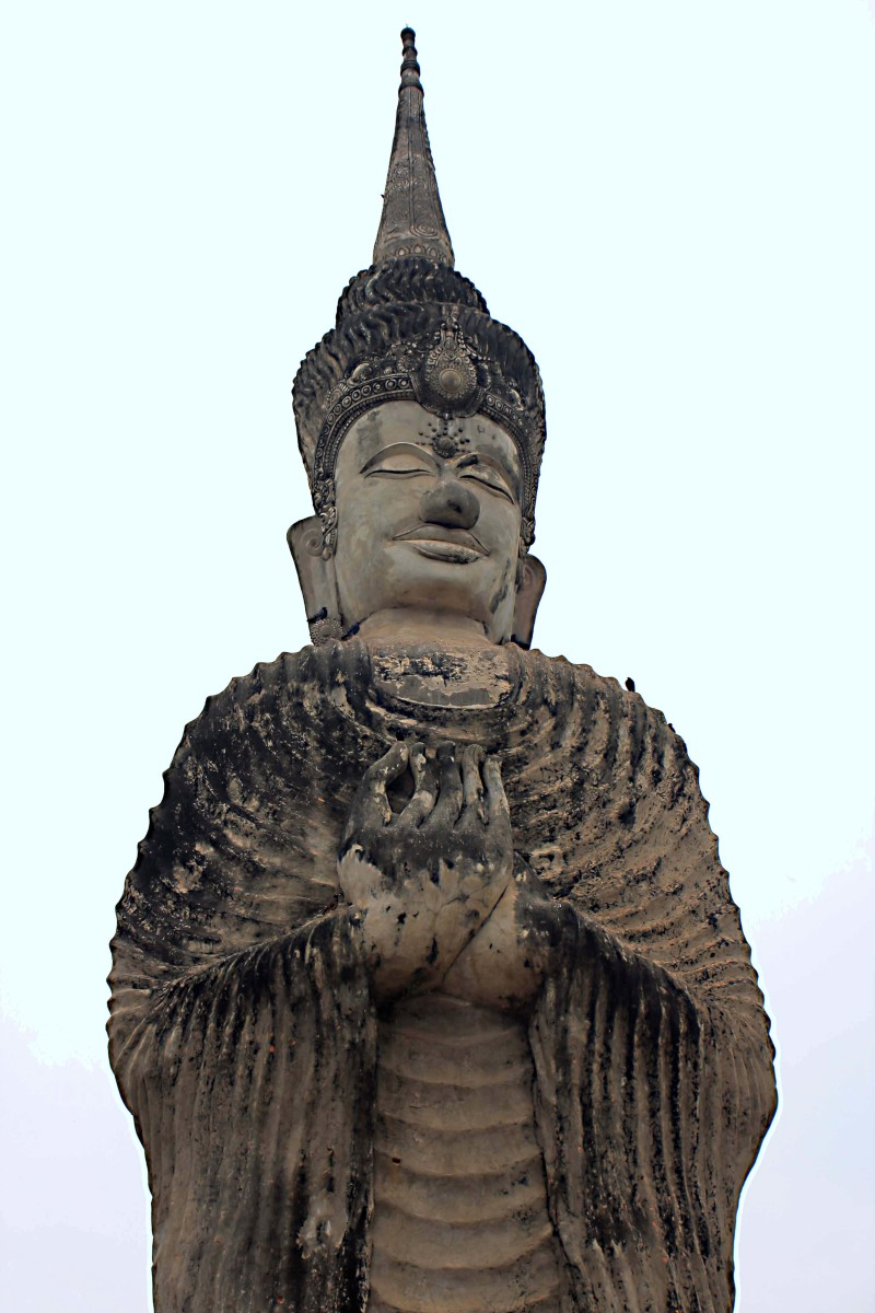 One of the tallest of all the Buddha statues, which can be seen from anywhere in the park