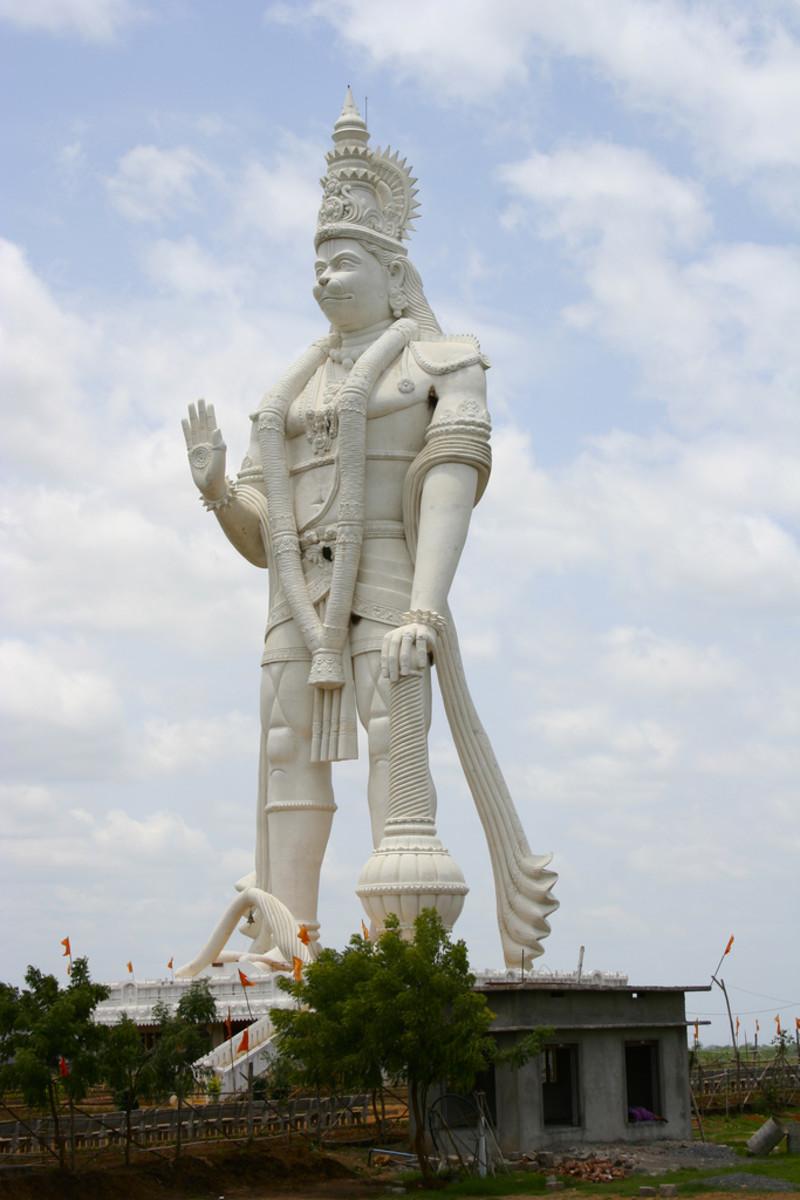 Veera Abhaya Anjaneya Hanuman Swami, Paritala, Hyderabad