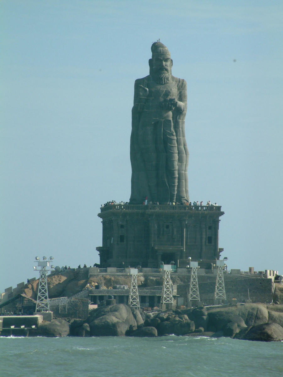 Thiruvalluvar of Kanyakumari
