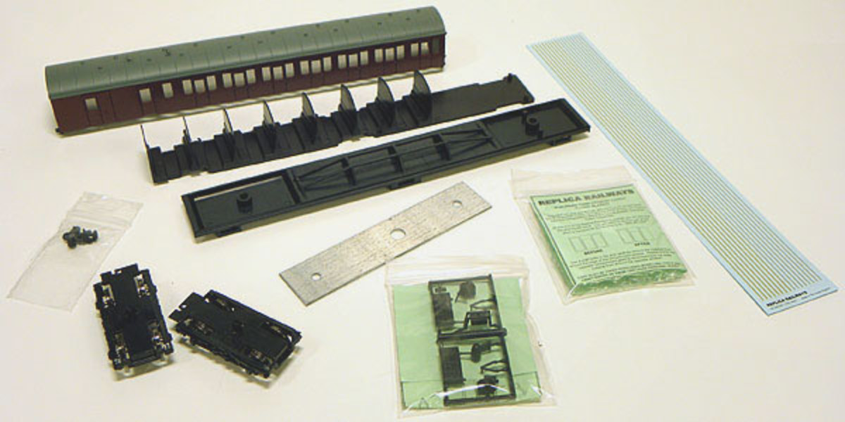 Replica Self Assembly packs are also available, this is Subpack (Suburban Coach pack) No.2