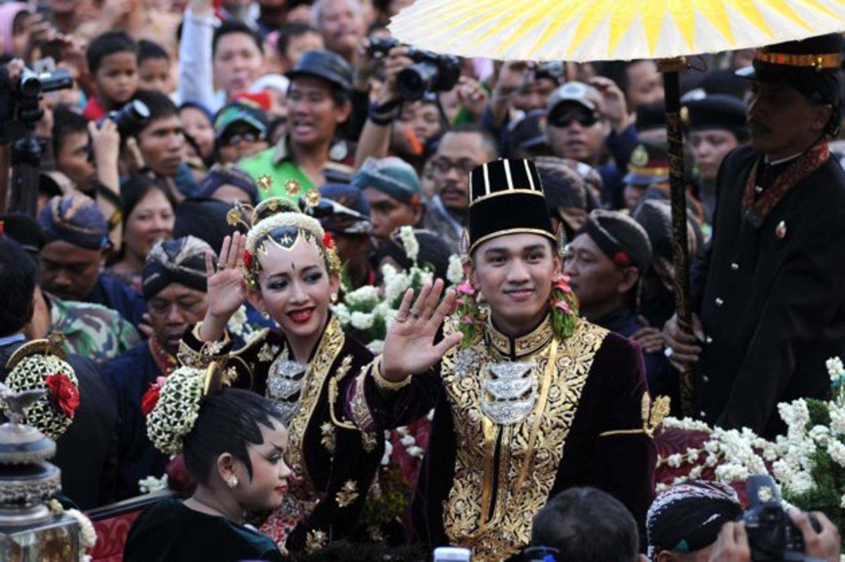 Javanese Royal Wedding - Keraton Yogyakarta  Wedding.