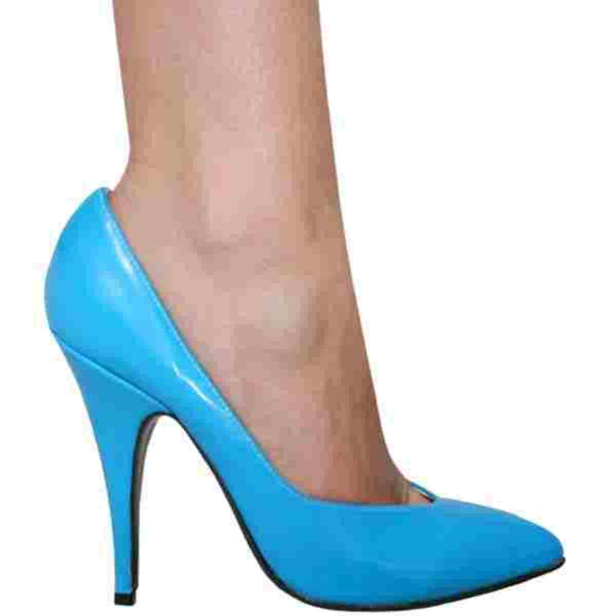 High Heels are a not good for healthy feet.