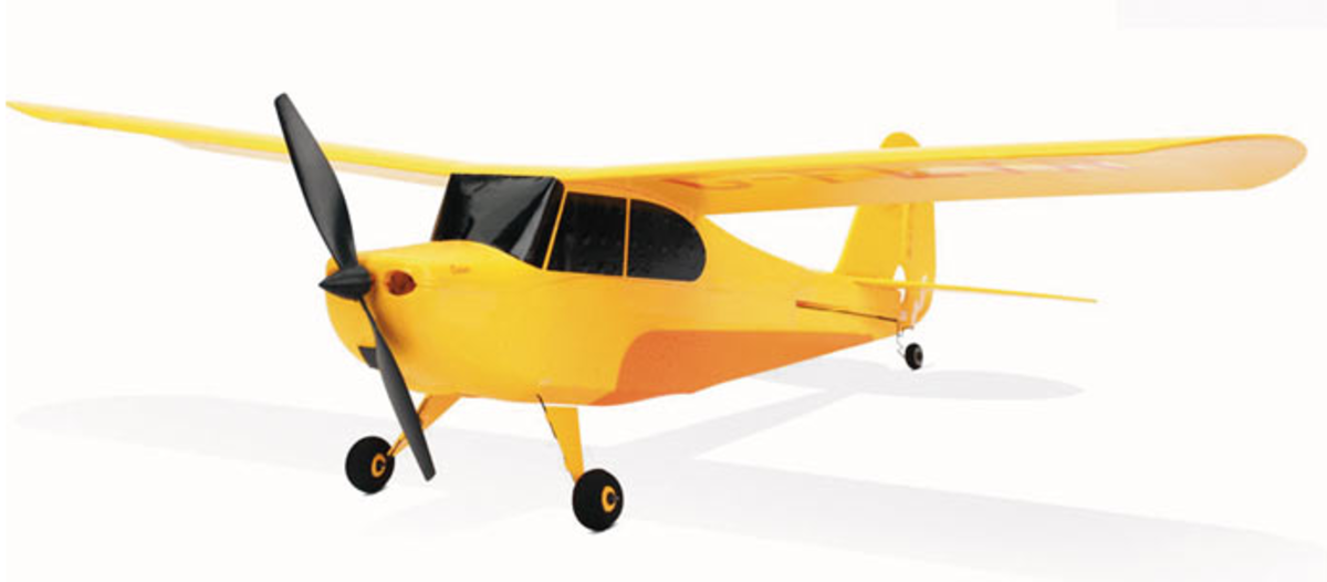 A fabulous RC plane for both beginners and intermediate pilots - the Hobbyzone Champ.