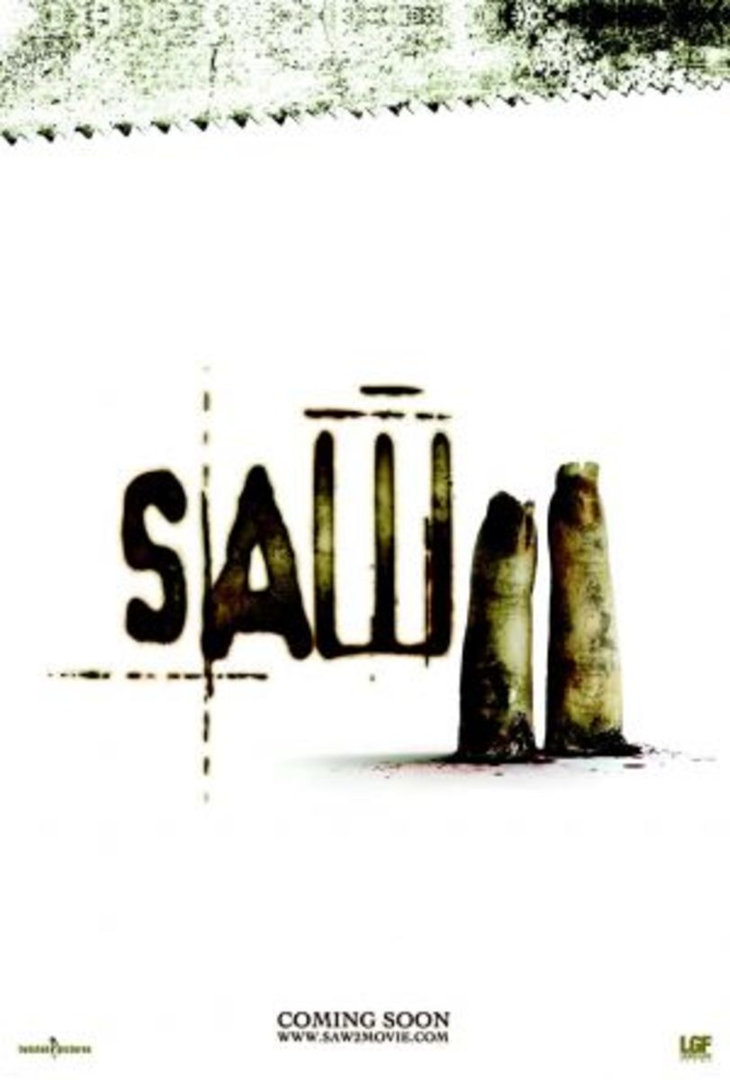 Saw 2 banned teaser poster (2005)