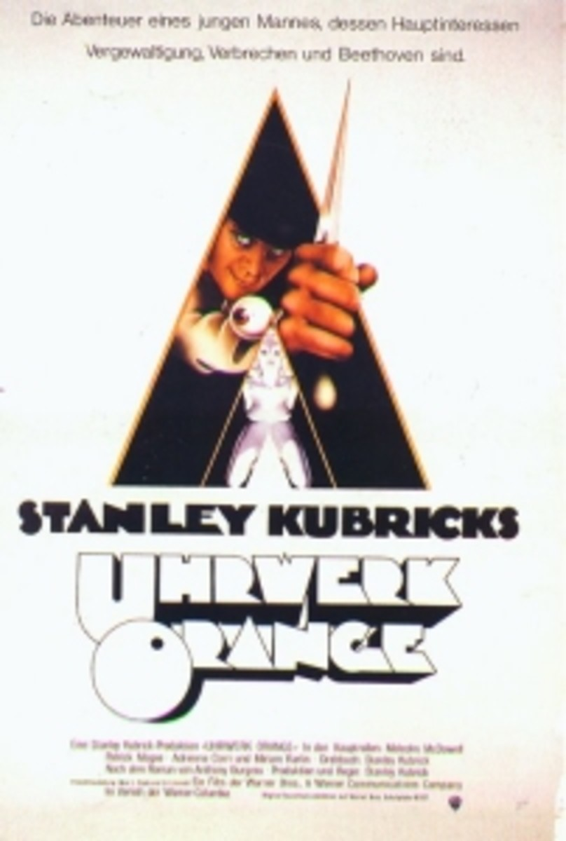 Censored A Clockwork Orange poster (1971)