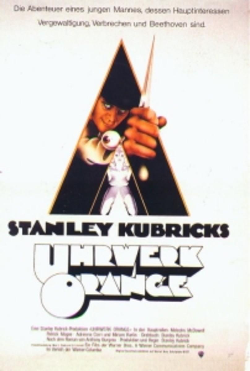 Censored A Clockwork Orange poster (1971)