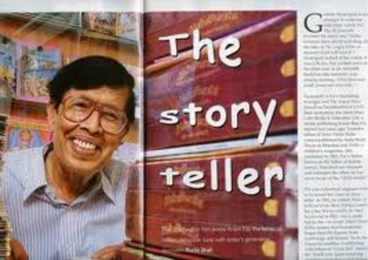 Anant Pai, the late founder of Amar Chitra Katha comics