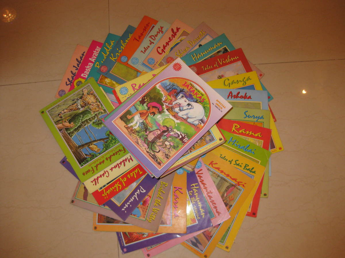 My vast personal collection of Amar Chitra Katha comics