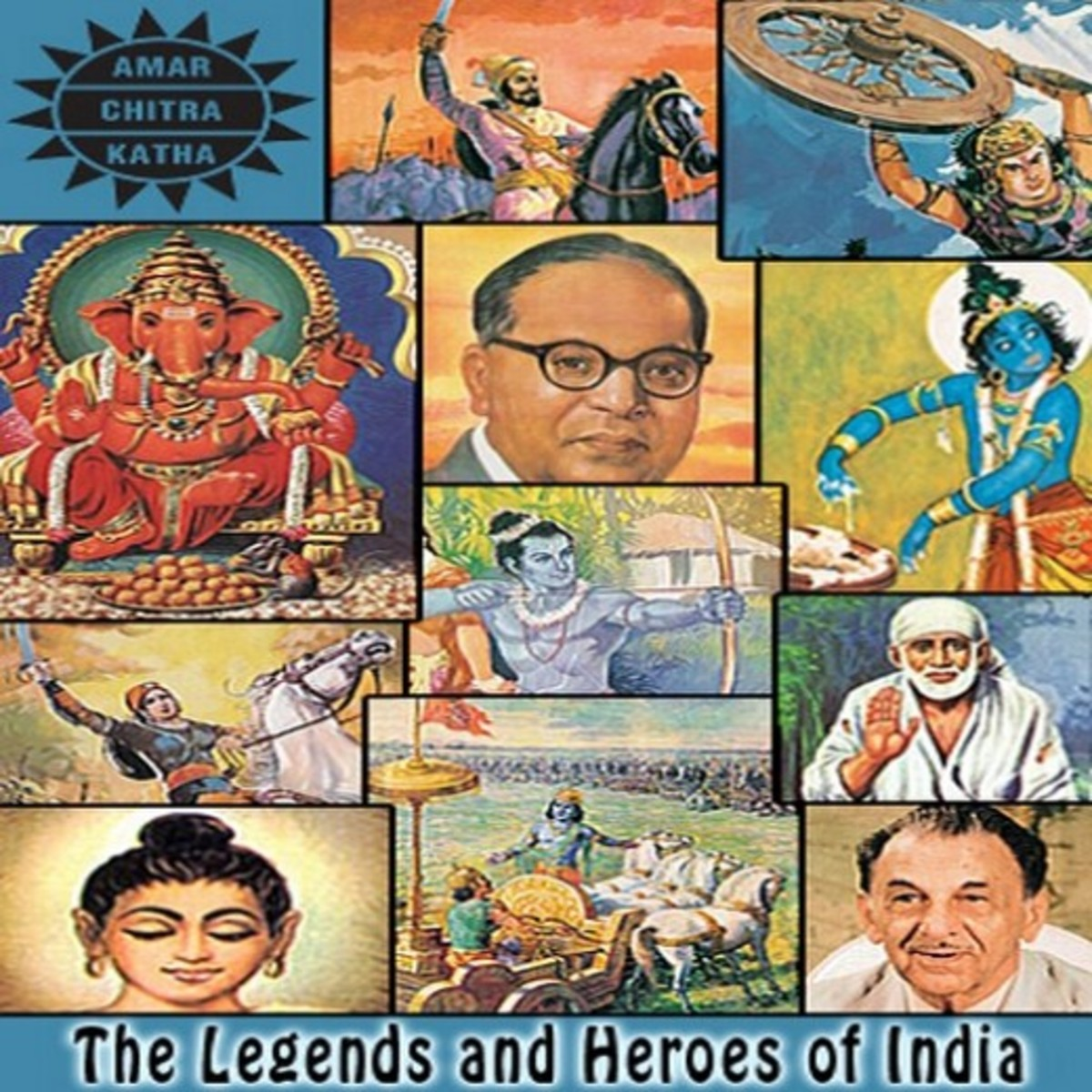 India's Comics About Hindu Mythology and History in English Language-Amar Chitra Katha(meaning Immortal Picture Stories)