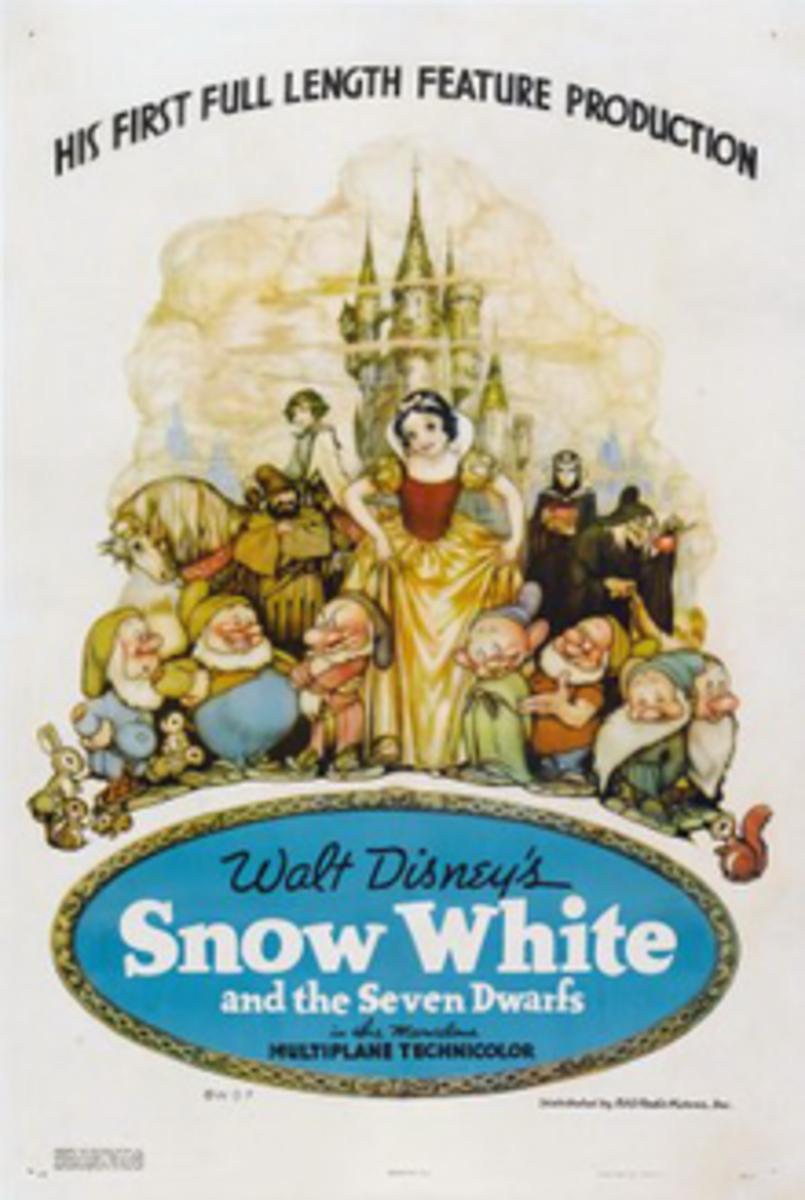 Snow White poster - 1937