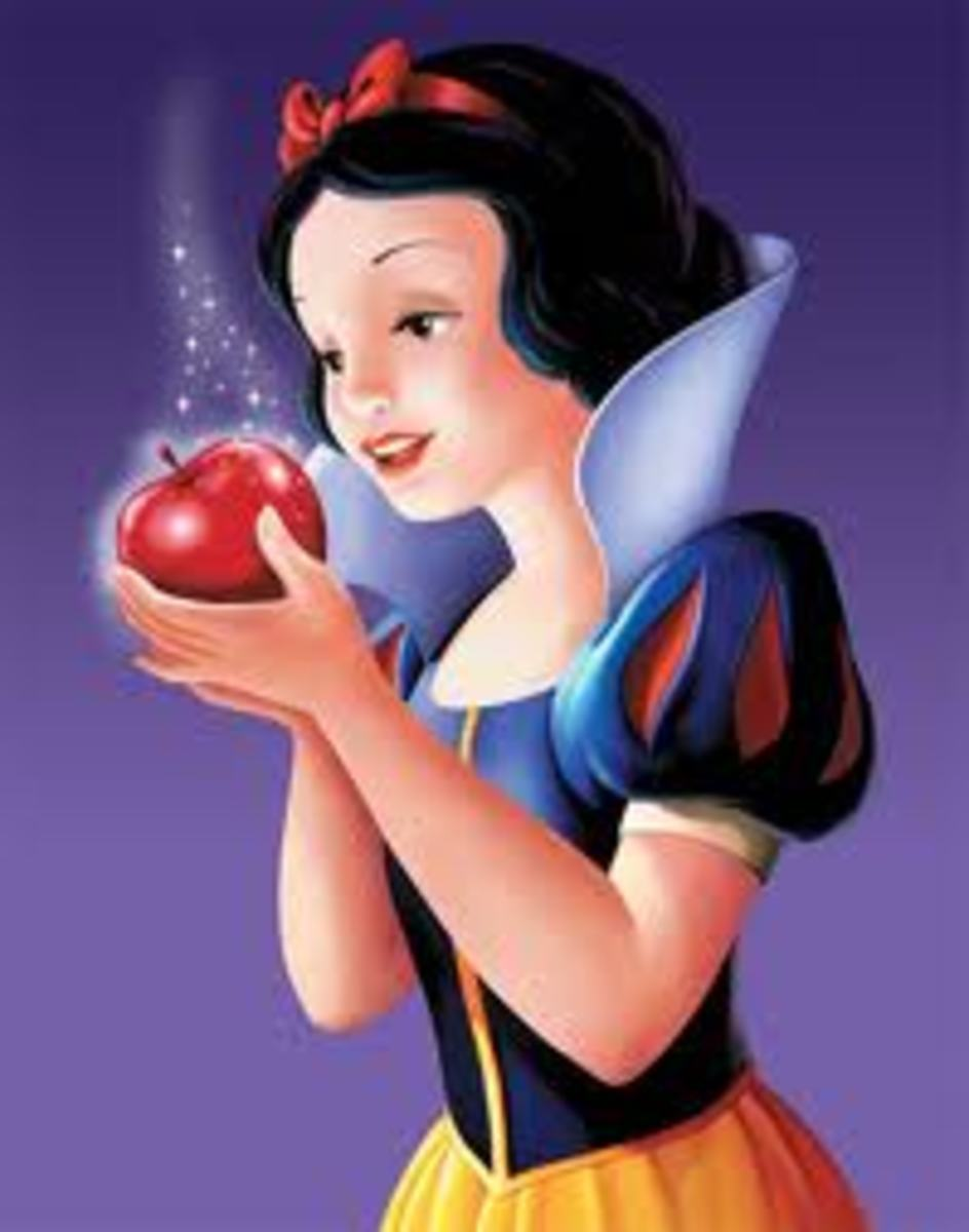 Snow White and Apple (before)