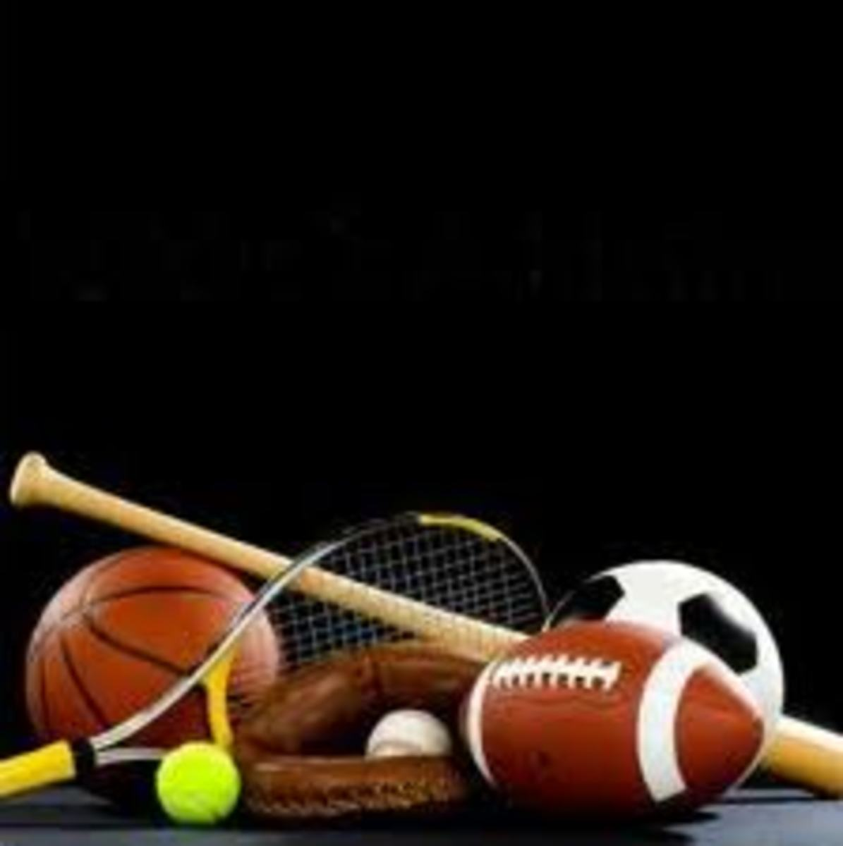 Sports equipment kept in closed cupboard