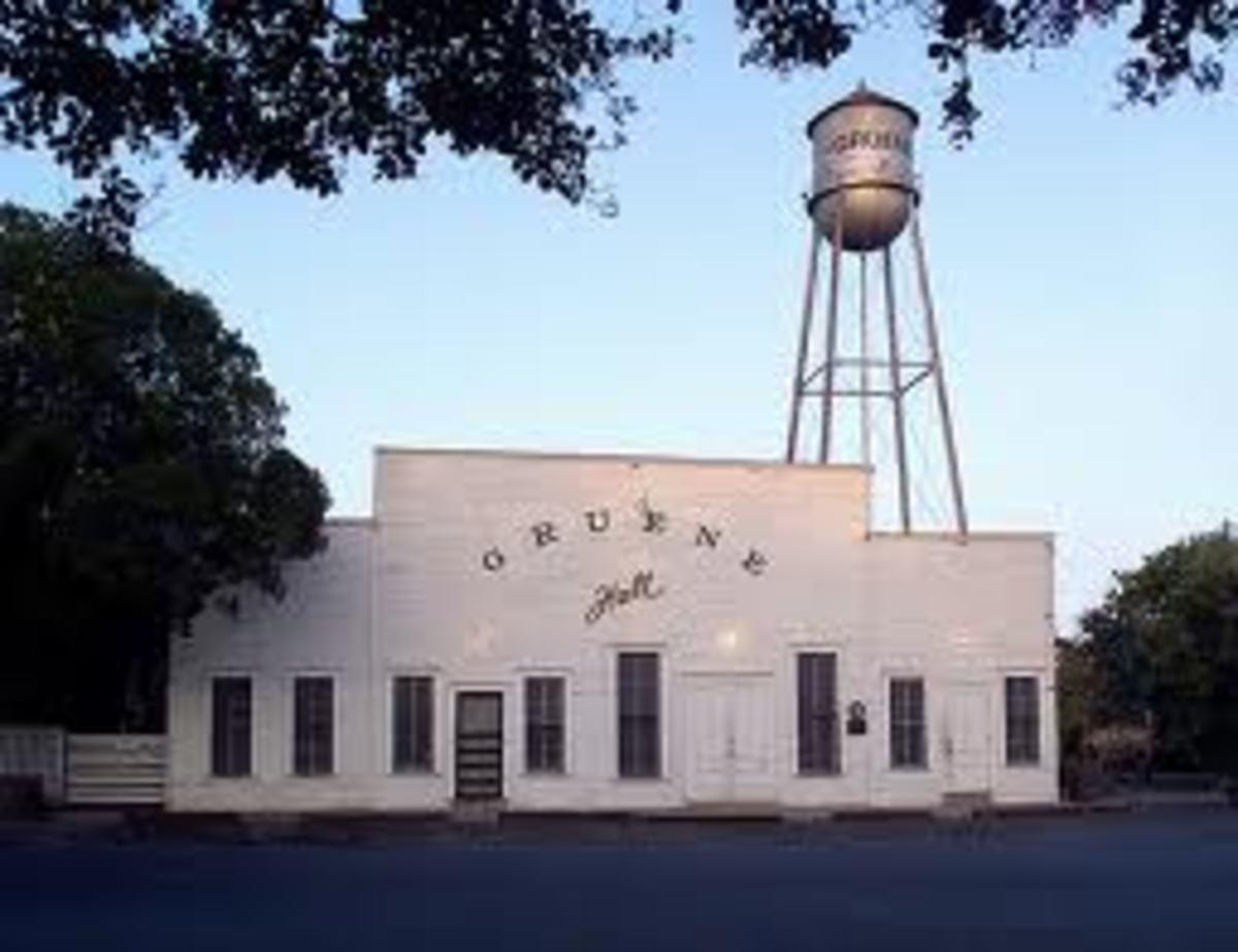 Gruene Hall has been a dance hall scene for decades