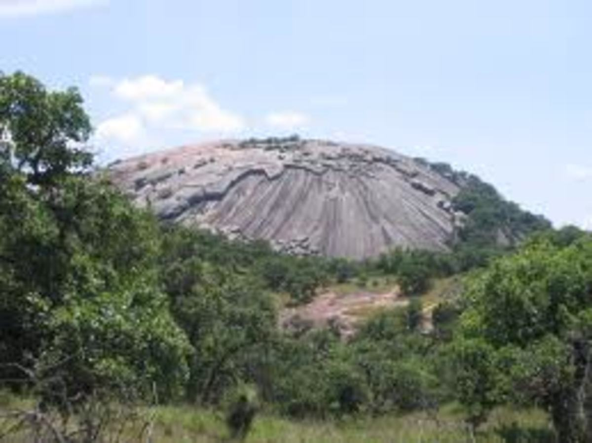 Enchanted Rock has a mystical and geological attraction for visitors