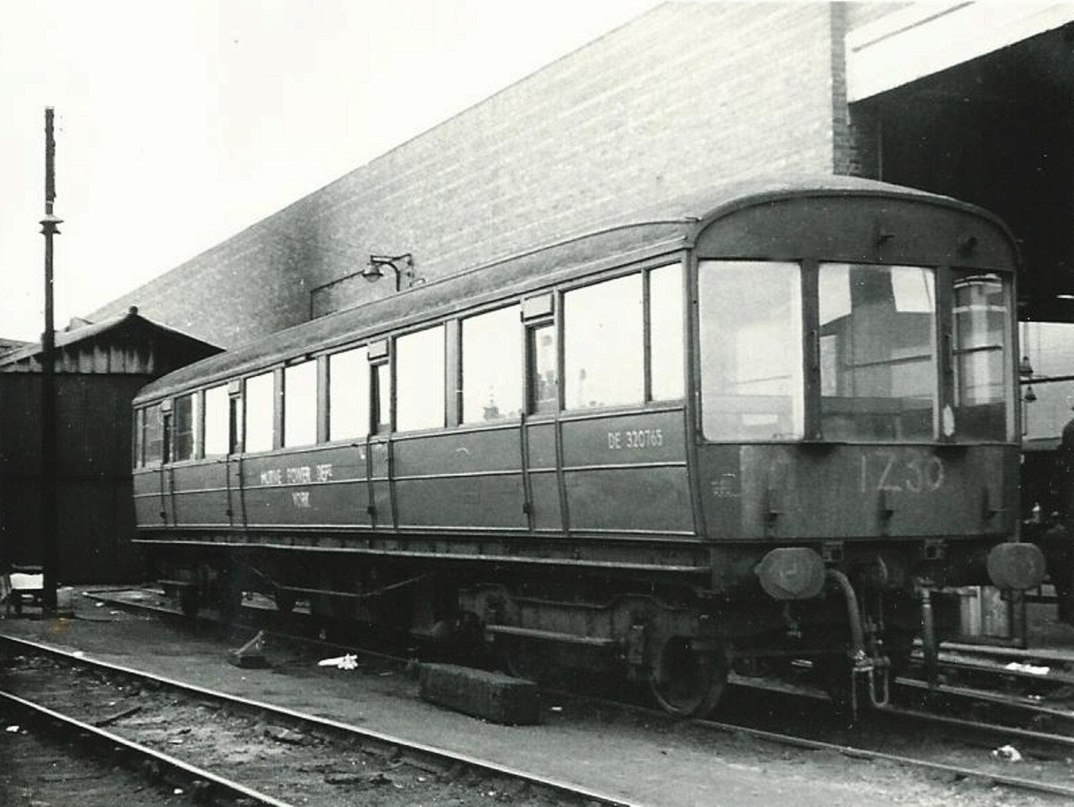 Great Northern Railway Inspection Saloon - this one definitely made it into BR ownership