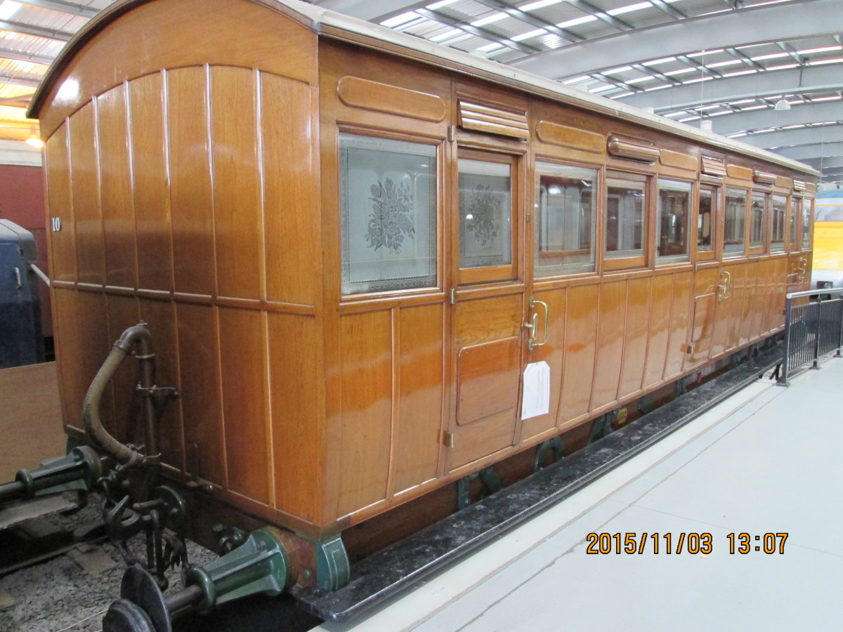 All companies had them - Inspection saloons afforded permanent way inspectors a close look at engineering work undertaken or called for. This is a North London Railway Inspection Saloon. The company would be absorbed by the LNWR, then the LMS in 1923