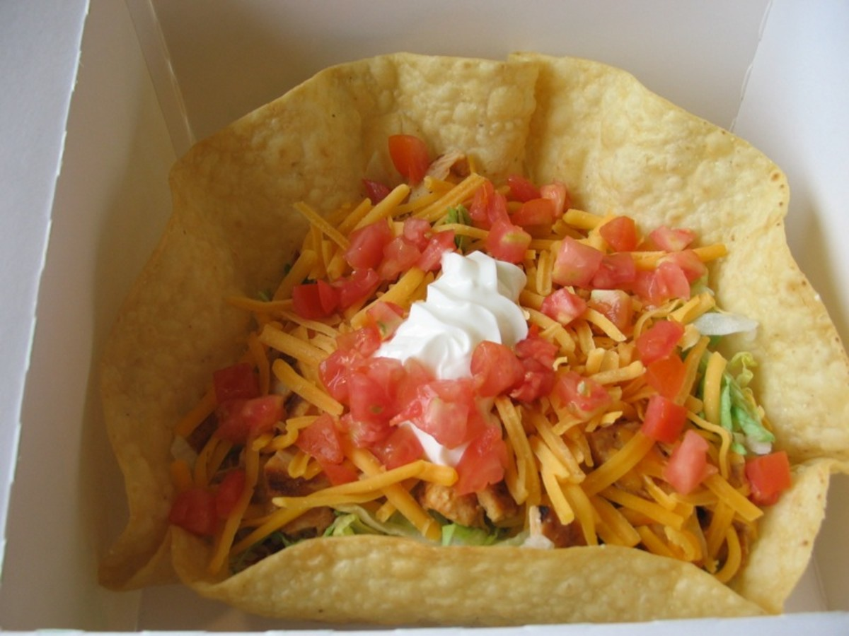 Thought you were doing a good thing getting a salad? Not usually true. Getting a salad at Taco Bell gets you 20 Points!