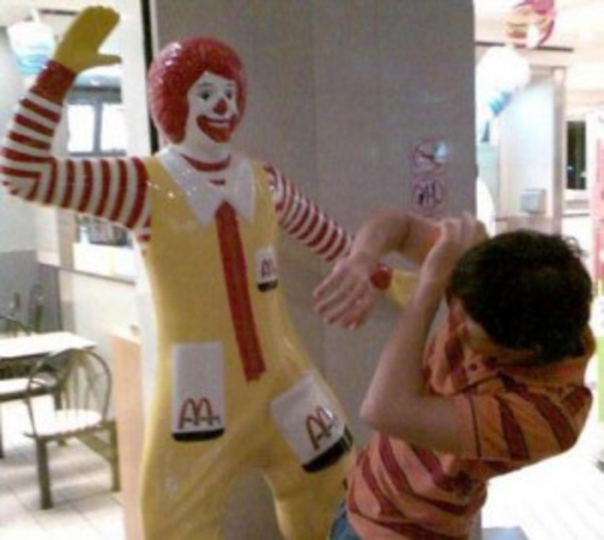 I just wanted a Big Mac!!