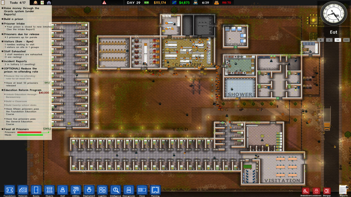 Prison Architect Gameplay