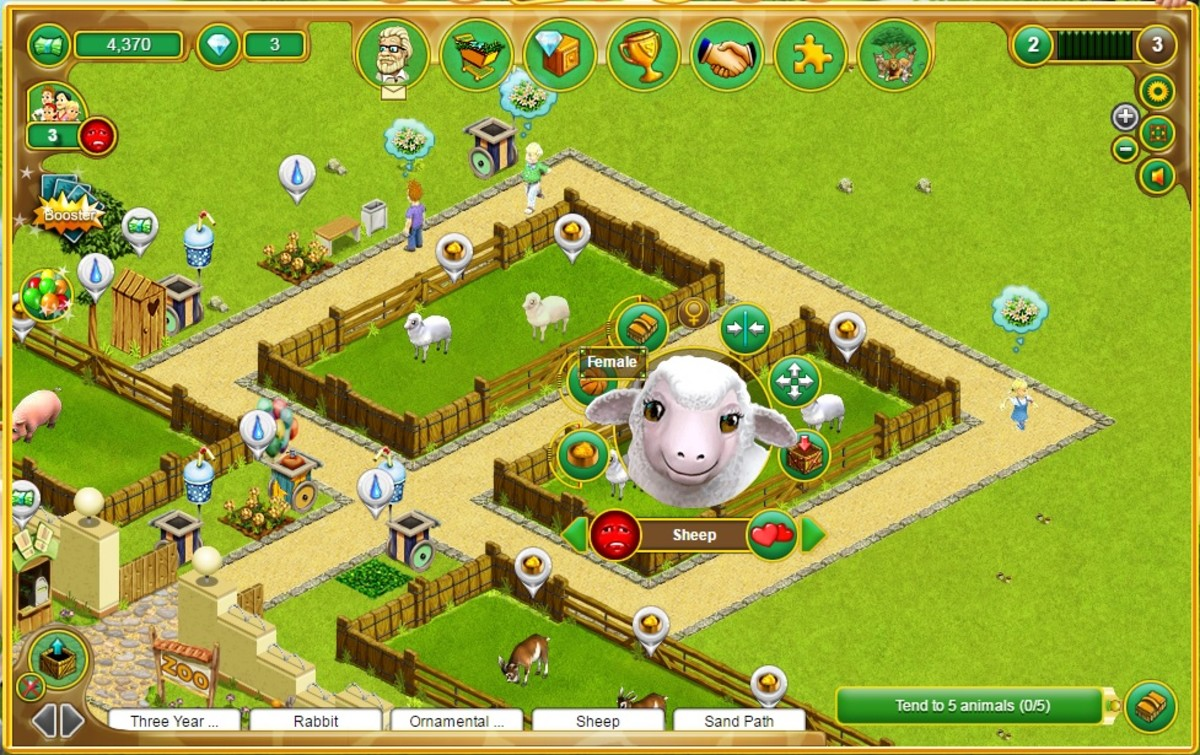 My Free Zoo Gameplay