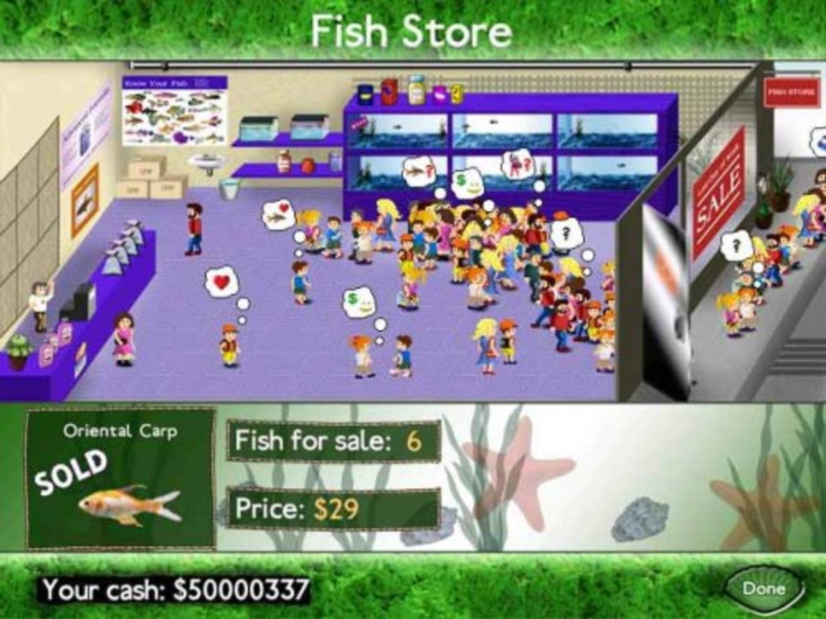 Fish Tycoon Gameplay