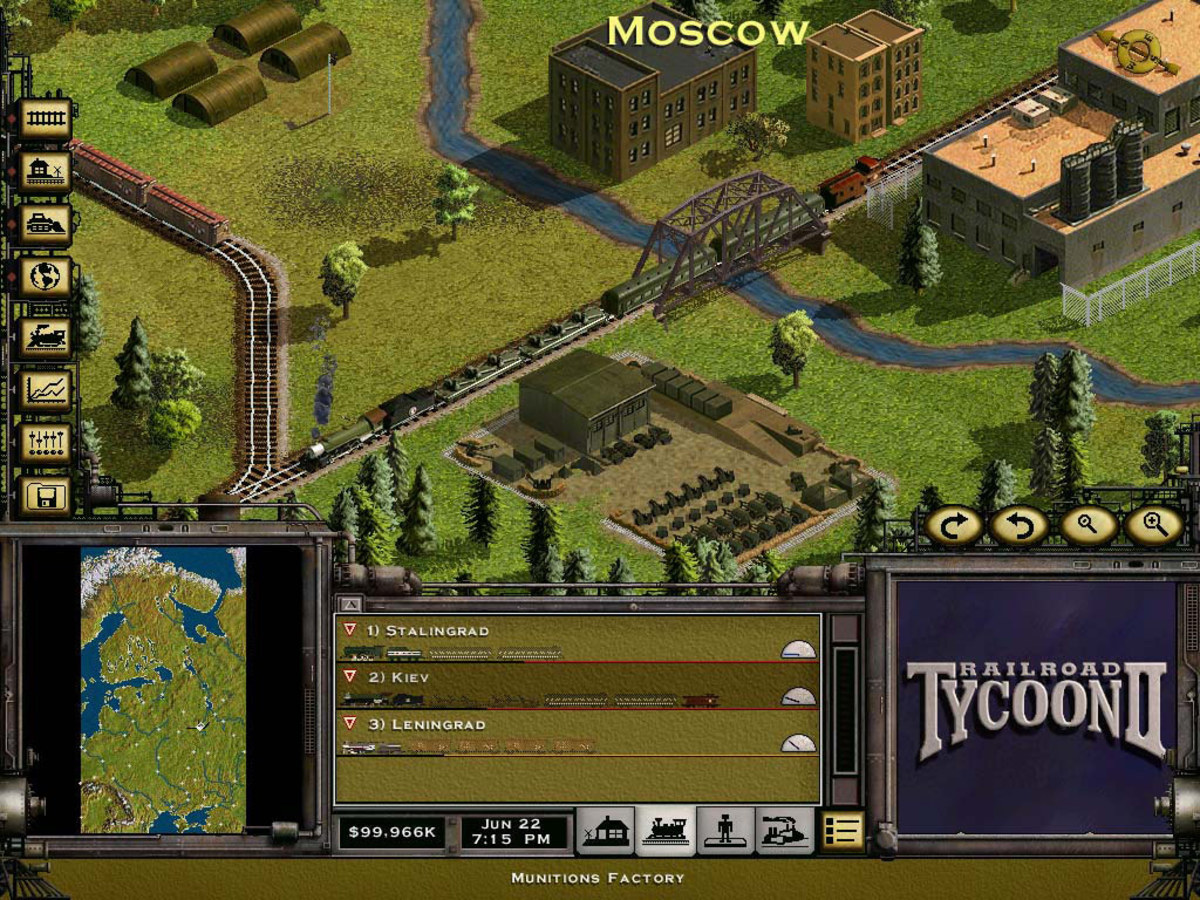 Railroad Tycoon II Platinum Gameplay