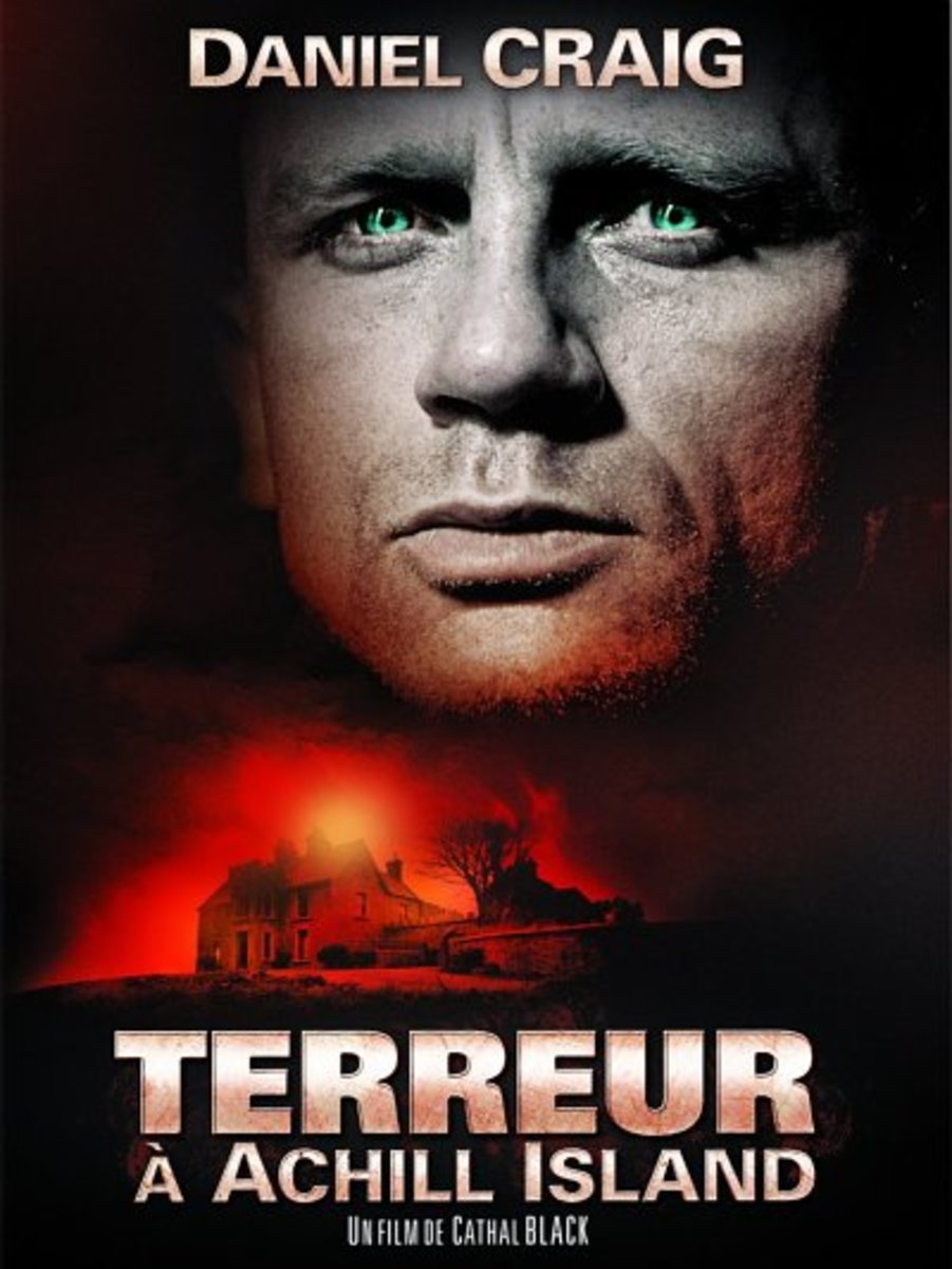 'Love and Rage' French poster 'Terreur Á Achill Island'